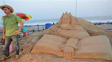 Khabar Odisha:INTERNATIONAL-SAND-ART-FESTIVAL
