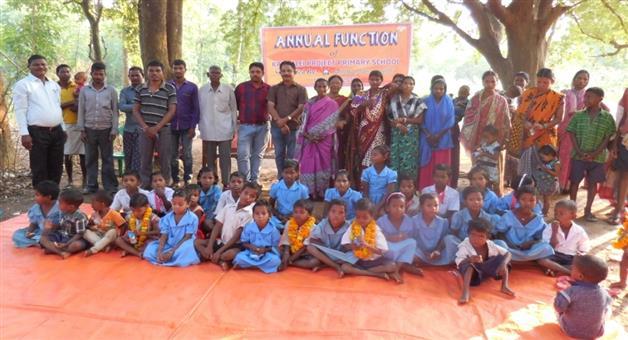 Khabar Odisha:Annual-Ustav-of-kandalei-Primary-School