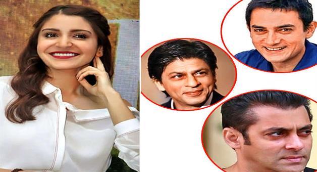 Khabar Odisha:anushka-sharma-invite-shahrukh-and-aamir-in-marriage-but-not-salman-khan