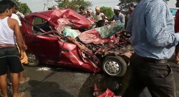 Khabar Odisha:Inc-rearing-Road-Accident-in-odisha