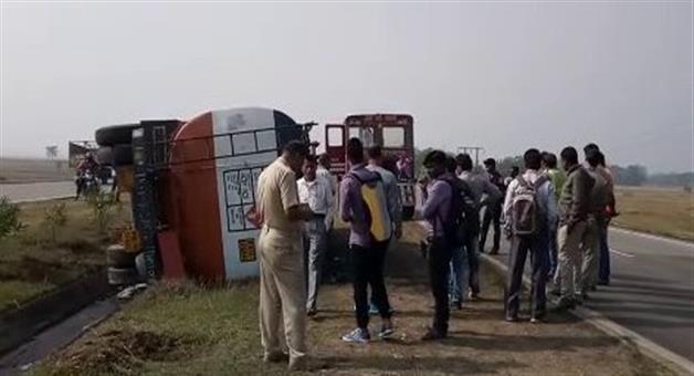 Khabar Odisha:Oil-Tanker-Accident-in-balesore
