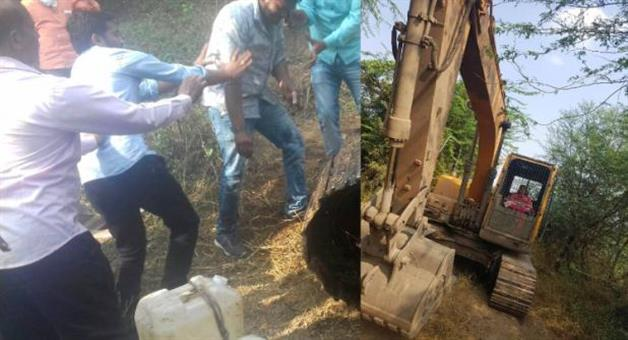 Khabar Odisha:maharashtra-ahmednagar-mining-sand-mafia-tehsildar-assault