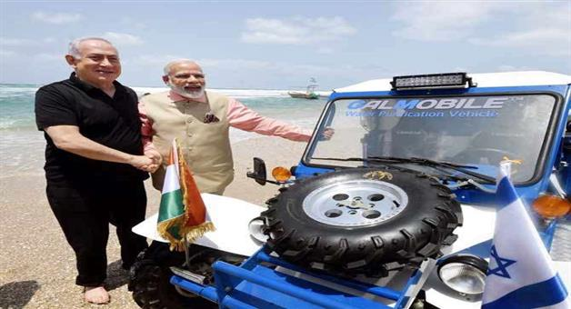 Khabar Odisha:israel-pm-benjamin-netanyahu-visits-india-narendra-modi-defence-deal-news-and-up