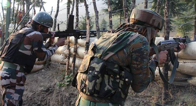 Khabar Odisha:cross-border-firing-bsf-posts-pakistani-rangers-jammu