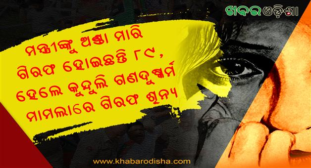 Khabar Odisha:No-Arrested-In-Kunduli-Gang-Rape
