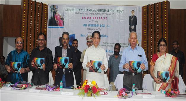 Khabar Odisha:Ashranta-Nirjhara-Book-Written-By-Subhadra-Devi