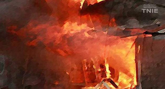Khabar Odisha:AINTHAPALI-POLICE-STATION-ACCIDENT