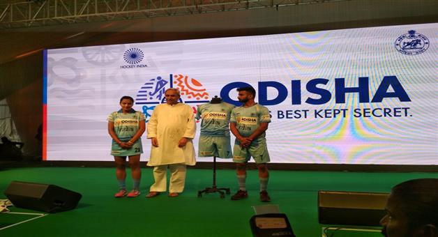 Khabar Odisha:india-hocky--team-jursey-inagurate-by-cm-naveen-pattanaik