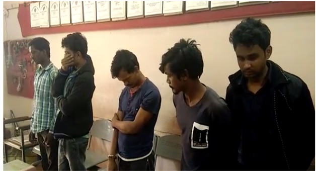 Khabar Odisha:6-Thief-Arrested-By-Jatani-Police