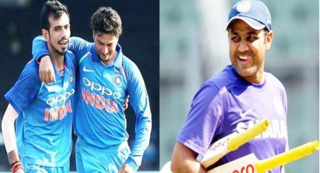 Khabar Odisha:virender-sehwag-kuldeep-yadav-yuzvendra-chahal-chaku-humka-dedo-thakur-33-wickets