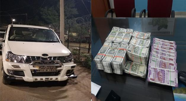 Khabar Odisha:40-lakh-seized-from-car-by-Padmapur-police-near-Mahulapalli--Bijepur-Bypoll