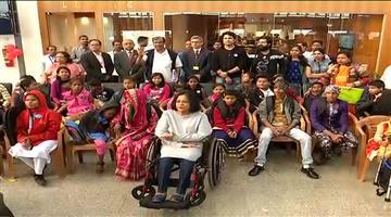 Khabar Odisha:43-divyang-kids-of-Odisha-all-set-to-board-their-dream-flight-from-Bhubaneswar-airport