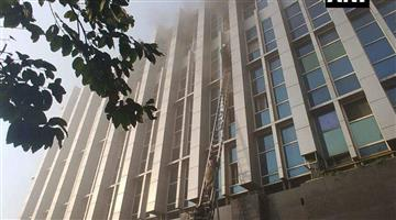 Khabar Odisha:6-people-dead-147-rescued-in-a-major-fire-at-govt-hospital-in-mumbai