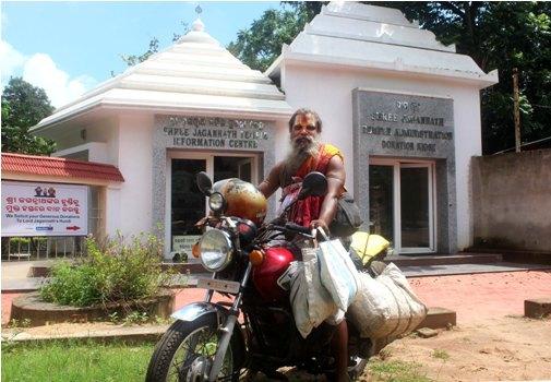 Khabar Odisha:Tulasi-Baba-unique-serve-to-god