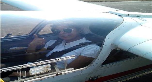 Khabar Odisha:India-youngest-lady-pilot-Shelvi
