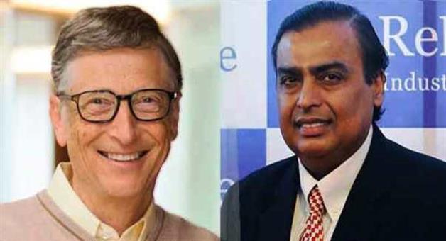Khabar Odisha:bill-gates-richest-man-in-the-world-ambani-leads-Indians