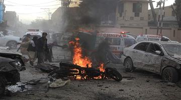Khabar Odisha:A-bomb-blast-at-Afghanistan-has-killed-at-least-14-Iraqi-people-and-injured-45-others