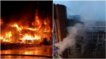 Khabar Odisha:A-fire-broke-out-in-a-13-storey-building-in-Taiwan-killing-at-least-six-people