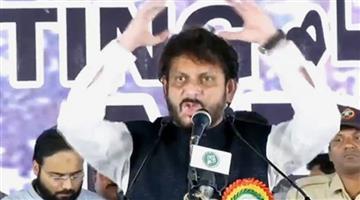 Khabar Odisha:AIMIM-leader-Waris-Pathan-They-tell-us-that-15-cr-hain-magar-100-ke-upar-bhaari-hain