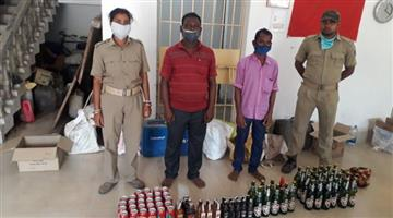 Khabar Odisha:Abkhazia-and-police-raid-to-crack-down-on-drug-trafficking-3-arrests