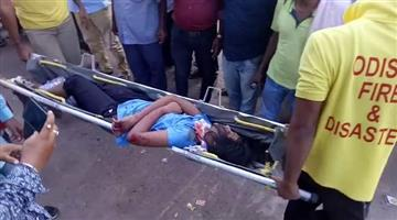 Khabar Odisha:Accident-in-Bhadrak-5-school-student-dead-4-injured
