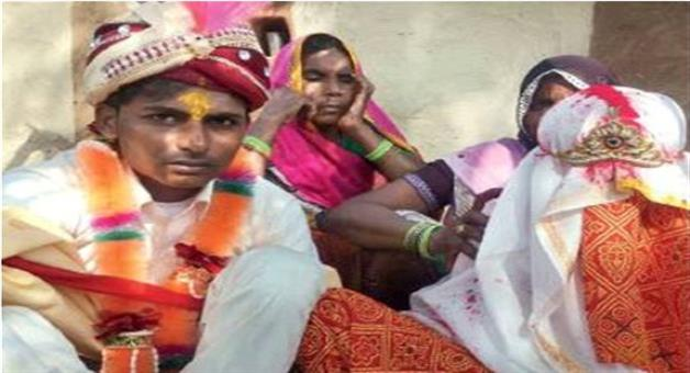Khabar Odisha:After-22-years-wedding-bells-ring-in-a-remote-village-of-rajsthan