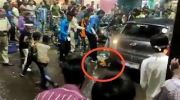 Khabar Odisha:After-Chhattisgarh-Bhopal-a-car-crashed-into-a-child-during-the-dumping