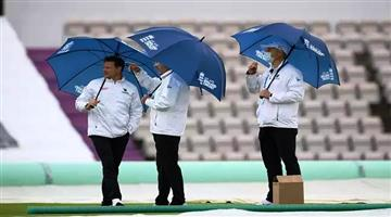 Khabar Odisha:After-Corona-the-rain-was-a-hurdle-with-only-174-overs-played-on-the-first-day