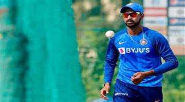 Khabar Odisha:After-a-long-three-month-hiatus-Krunal-Pandey-came-down-to-the-field-for-practice