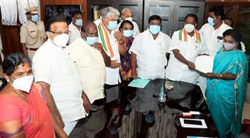 Khabar Odisha:After-the-fall-of-the-Congress-presidential-rule-was-imposed-in-Puducherry