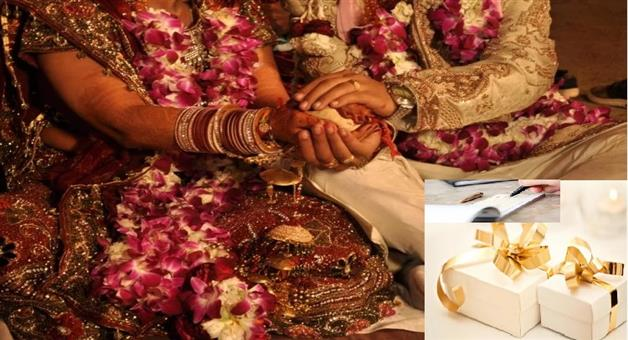 Khabar Odisha:Ajab-khabar-Odisha-wedding-guest-gifted-a-cheque-to-bride-but-later-he-realized-mistake-then-asked-for-back-gift