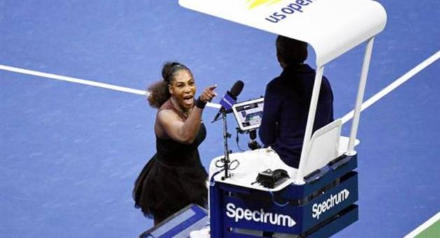 Khabar Odisha:American-Tennis-star-Sarena-Williams-fine
