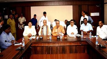 Khabar Odisha:Amicus-Cury-Meet-Puri-Gajpati