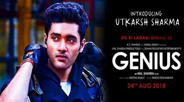 Khabar Odisha:Anil-Sharma-Son-Utkarsh-Debut-Film-Genius-2nd-Trailer-Release