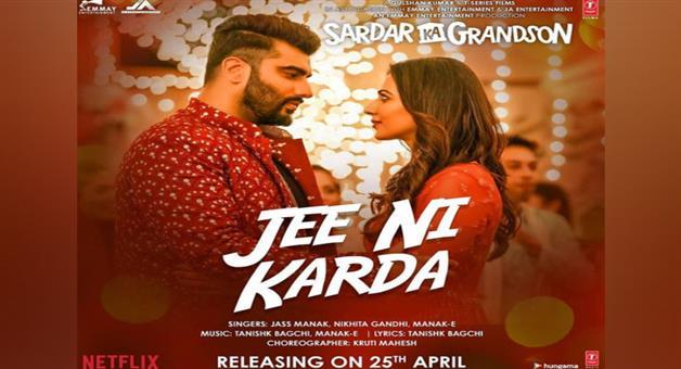 Khabar Odisha:Arjun-Kapoors-Most-Awaited-Movie-Sardar-Ka-Grandsons-1st-Music-Released