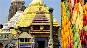 Khabar Odisha:Art-and-culture-Odisha-Puri-jagannath-temple-fruits-from-people
