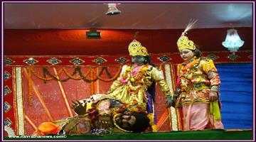 Khabar Odisha:Art-and-culture-odisha--bargarh-dhanu-yatra-end-with-the-kansa-badha