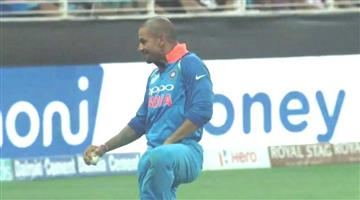 Khabar Odisha:Asia-cup-Shekhar-Dhawan-takes-4-catch-in-one-innings
