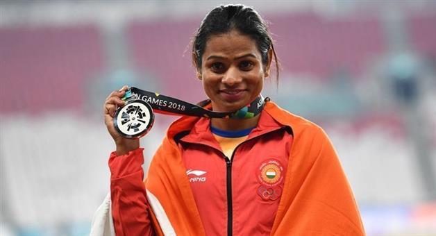 Khabar Odisha:Asian-Games-2018-Dutee-Chand-wins-a-silver-medal-in-womens-200m-finals