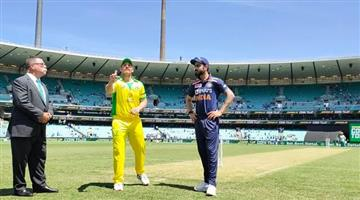 Khabar Odisha:Australias-huge-score-on-the-strength-of-Smith-and-Finchs-centuries-India-have-a-target-of-375-runs