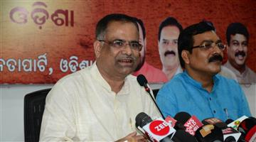 Khabar Odisha:BJP-Press-Meet-Against-BJD