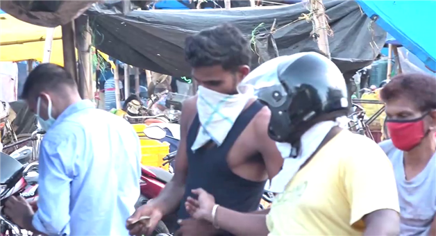 Khabar Odisha:BMC-has-sealed-off-the-previous-years-tactics-masks-and-social-distances