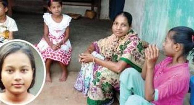 Khabar Odisha:Beedi-labour-girl-got-90-in-metric-exaction