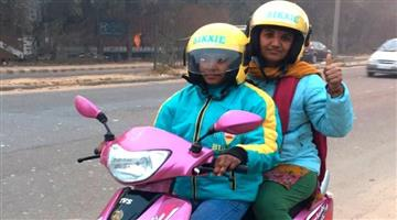 Khabar Odisha:Bike-taxi-app-for-Ladies-Safety