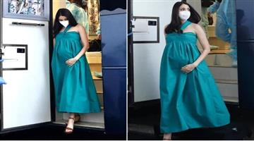 Khabar Odisha:Bollywood-actress-Anushka-Sharma-arrives-on-set-for-seven-months-of-pregnancy