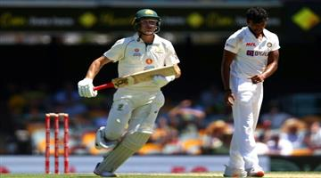 Khabar Odisha:Brisbane-Test-Australia-1543-by-tea-break