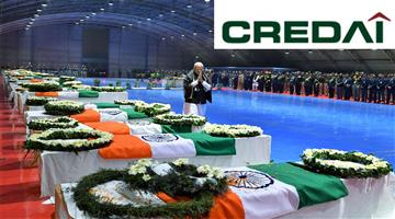 Khabar Odisha:Business-CREDIA-CREDIA-announced-2-bhk-apartments-for-Pulwama-terror-attack-martyrs-family