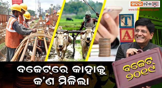 Khabar Odisha:Business-Odisha-interim-budget-2019-farmer-middle-class-tax-limit-women