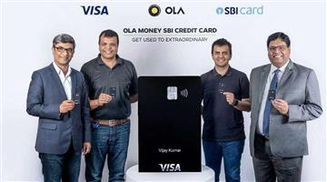 Khabar Odisha:Business-Ola-launches-visa-powered-credit-card-with-State-Bank-of-India