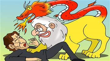 Khabar Odisha:Cartoon-Jinping-India-Visit